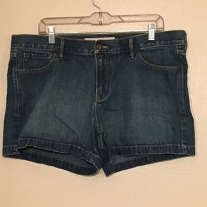 Old Navy Low Rise Jean Shorts Plus Size 16